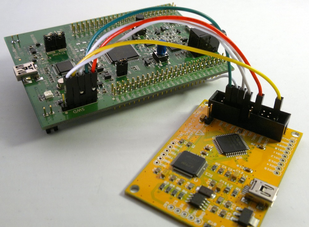 Programming the STM32F4 DISCOVERY with the Bus Blaster | nabil